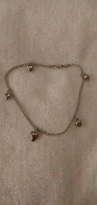 14 kt white gold anklet Laurel