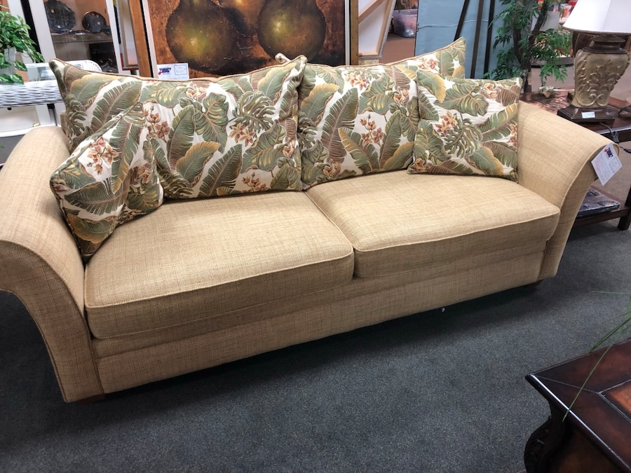 Tropical Sofa/Couch And Loveseat