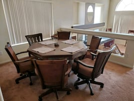 Dining room table (converts into full poker table)