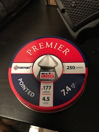 Crosman PREMIER Pointed .177 Caliber 4.5mm 250 Pellets (No Gun)