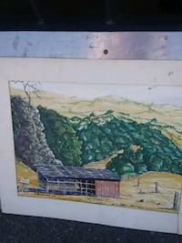 Small beautiful oil painting in fair condition Oakland, 94601