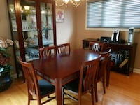 9 Piece Dining Set (Great Condition) Toronto, M9C 4N5