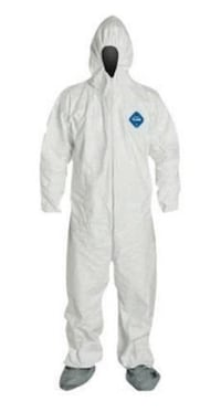 White Dupont Tyvek Disposable Coverall Size XL 2XL TY122S BRAND NEW! Miami, 33175