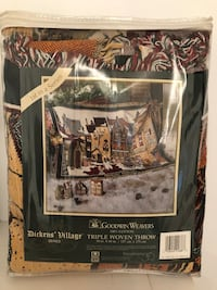 Dickens Village triple woven throw  Markham, L3P 7K2