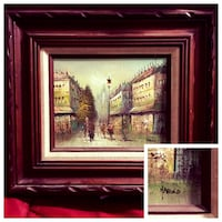 Authentic Artist Oil Painting (Paris ) Ottawa, K1C 2P8