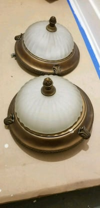 "Pair of ceiling lights 13"" x 8"" Los Angeles, 90029"