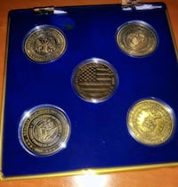 Limited Edition Armed Forces 2009 Commemorative Coin Collection Stockton, 95204