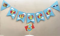 Personalized party banners Tracy