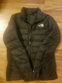black zip-up bubble jacket Gaithersburg, 20877
