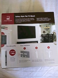 Gallery style flat TV mount Grover Beach, 93433