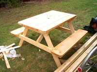 "Picnic Table 4' ""New"" Spruce (Pine)"