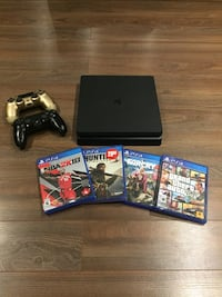PS4 With Games *MINT CONDITION*