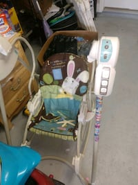 baby's brown and white stroller Palm Coast, 32164