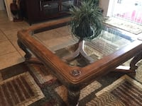 Glass top coffee table San Antonio, 33576