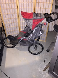Jogging stroller, Like New! Used once, Baby Trend Expedition Jogger Washington, 20036
