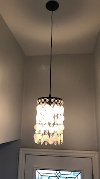 black and white pendant lamp Toronto, M8W 4E2
