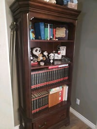 High end bookshelf