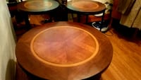 3 piece round coffee table W/2  Round  398 mi