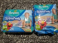 Pampers Splashers  42 km