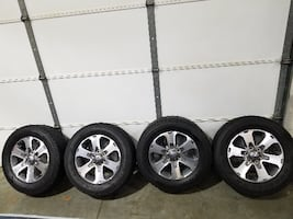 2014 Ford F-150 FX2 wheels and tires