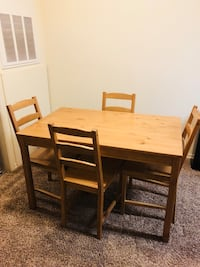 Dining table and chairs Edmond, 73012