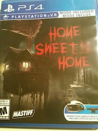 home sweet home vr ps4 Hanover Park