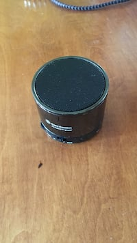 black and gray portable speaker Bedford, B4A