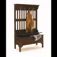 NEW Home Styles Hall tree and storage bench  Oakton, 22124