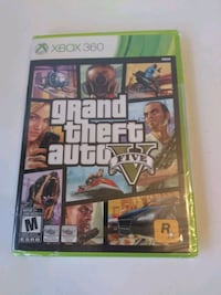GTA V Xbox 360 New Sealed $20 Firm Whitchurch-Stouffville, L4A 0J5