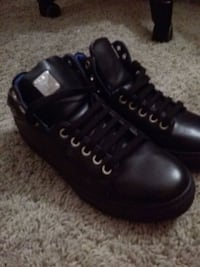 Brand new leather mcm shoes
