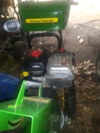 snow blower with electric start.