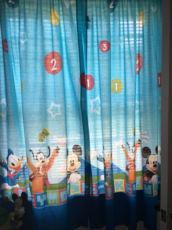 Clubhouses Mickey Mouse Curtains