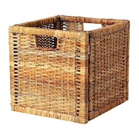 Ikea Rattan baskets - very good to excellent condition...rarely used. Alexandria, 22312