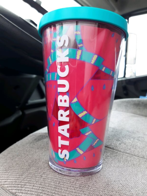 Starbucks  watermelon cup rare and hard to find  4a2e319a-fc1d-4819-b291-5eab28daa09a