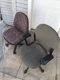 2 Swivel Office Chairs, $10 for both! Pasadena, 91106