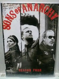 Sons of Anarchy complete season 4 dvd Baltimore