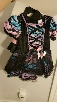 2-3T Witch cute Halloween costume BNWT  Mississauga, L4Z 3C6