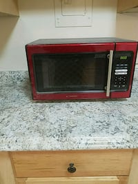 black and red Hamilton Beach microwave oven Falls Church, 22042