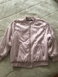 Pink ZARA jacket small never worn Montreal