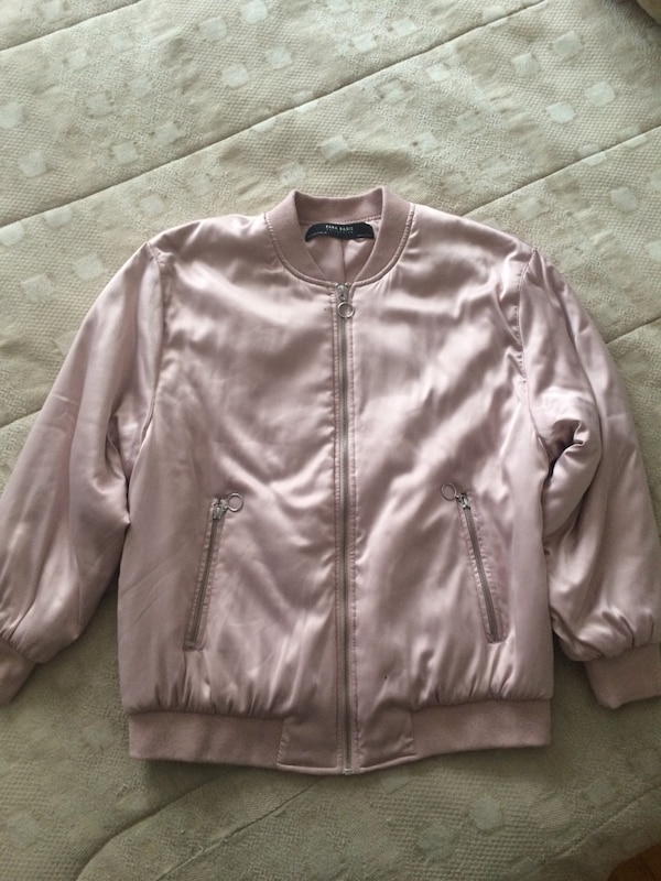 Pink ZARA jacket small never worn