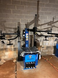 New tire changer combo and wheel balancer