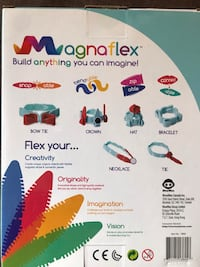 Magnaflex-magnetic/silicons build up toy..