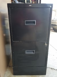 2 Drawer File Cabinet with Lock for Sale Martinez