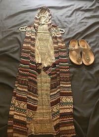 Long cardigan with slides both for 20$ Yuba City, 95991