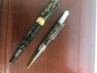 Beautiful Marble Rollerball Pen and Matching Ballpoint Pen Set Friendship Heights, 20815