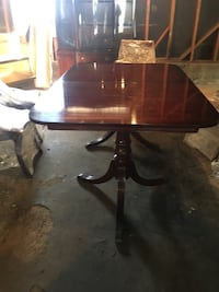 Duncan Phyfe dining set table,china hutch, Buffet, 6 chairs, 2 leaves and table pads. All offers considered. Daly City, 94015