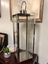 Tall Mirrored IMS Glamorous Glass Lantern