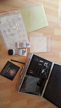 Schwarz Tattoo Maschine Kit