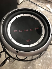Punch P1 10inch subwoofer (2) Henderson