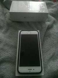 silver iPhone 6 with box Toronto, M9N 1M3